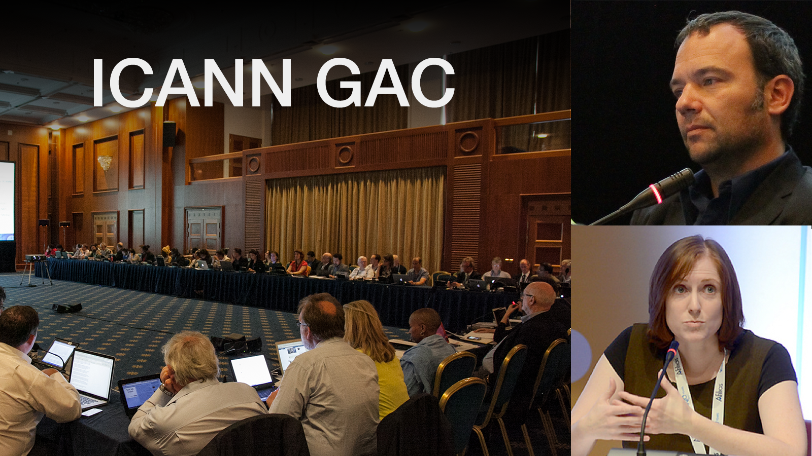 ICANN GAC change at the top (Photo Credits: ICANN
