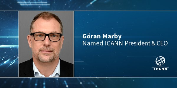 Swedish Göran Marby to Succeed Fadi Chehade as #ICANN CEO in May 2016