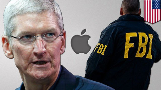 Apple vs FBI: CEO Tim Cook says Apple won't build backdoor for Feds in San Bernardino case