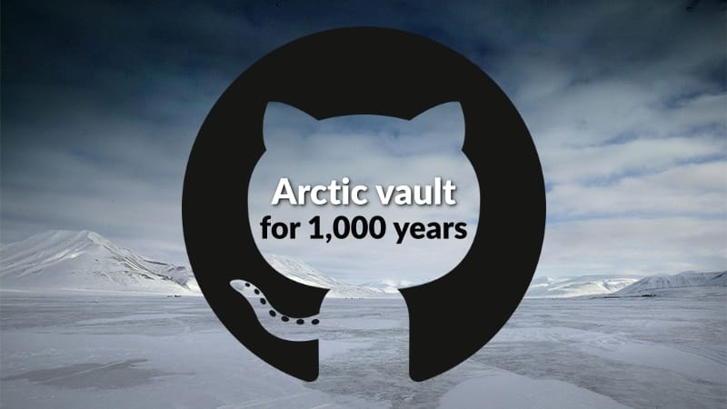 GitHub buries 21 TB of open-source code in Arctic Code vault for 1,000 years