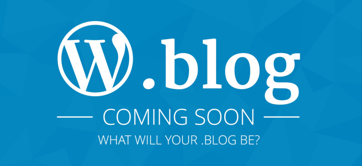 .Blog domain extensions will be available to all websites starting this year